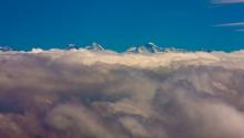 ... über den Wolken.